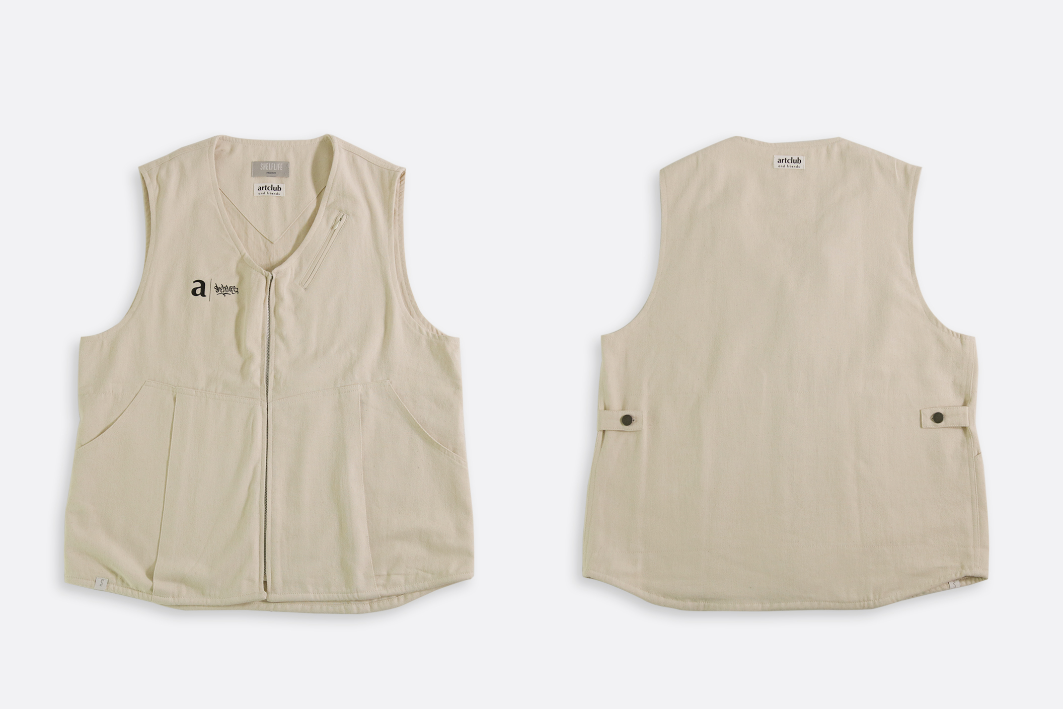 Shelflife x artclubandfriends Blog Gilet Vest Off White