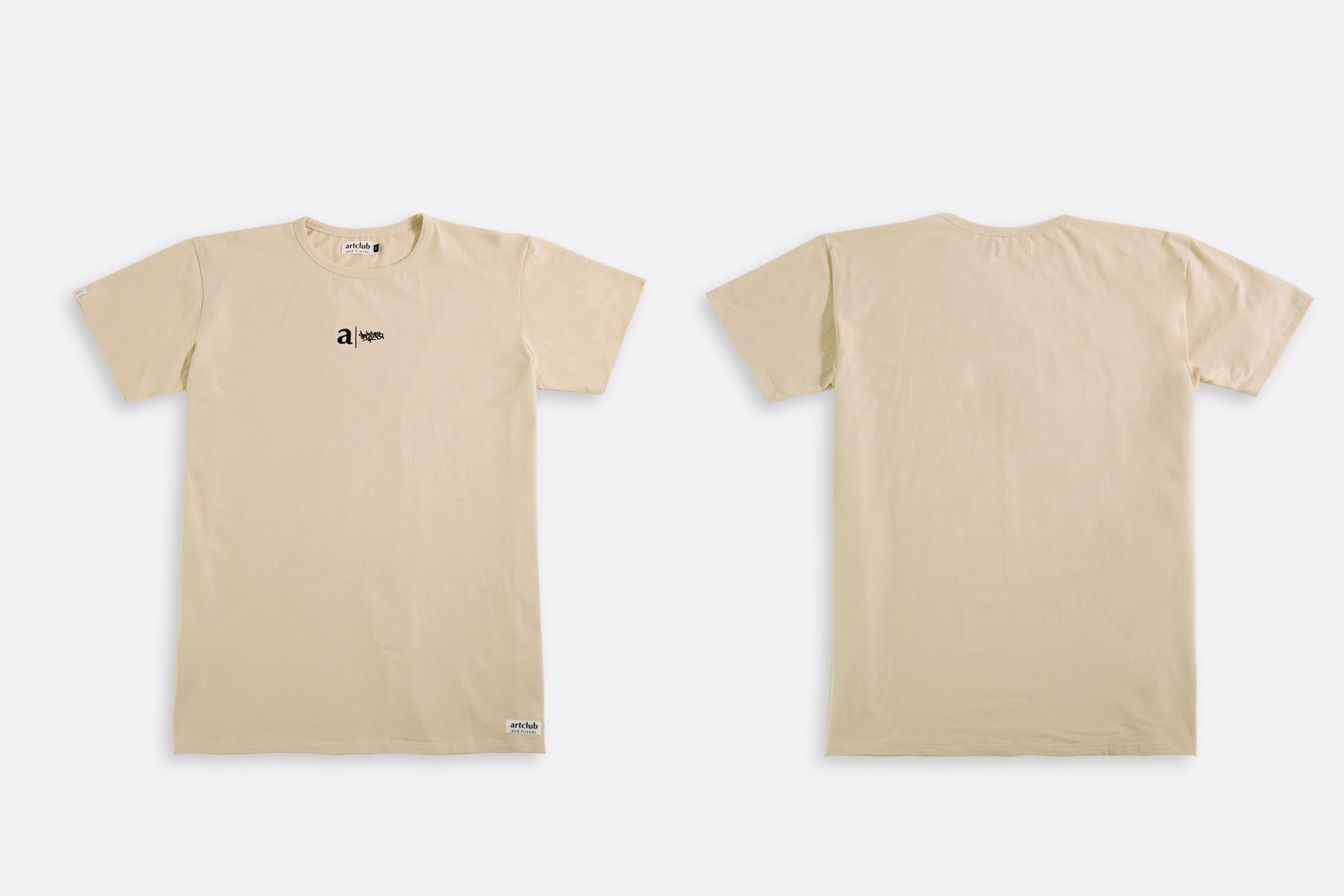 Shelflife x artclubandfriends Blog T-shirt Dress Off White
