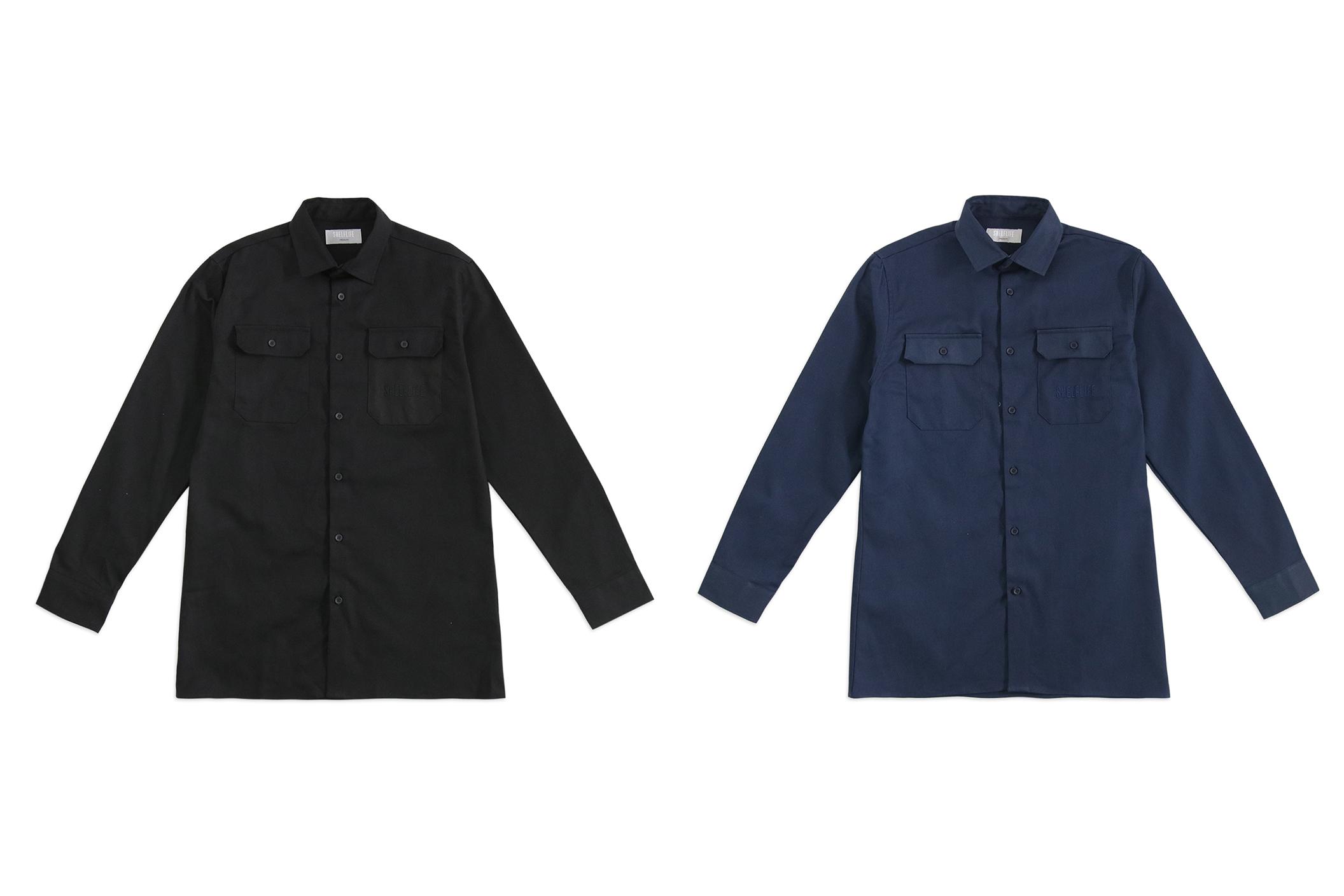 Shelflife W20 Button-Up Shirt Black black