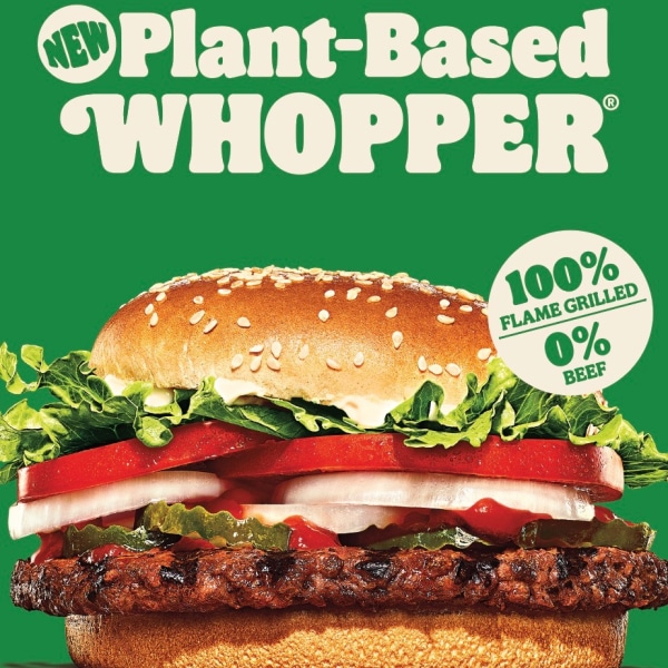 Burger King SA Launches Vegan Range