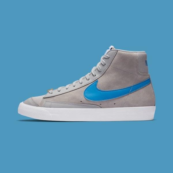 Nike Blazer Mid 77 - Grey Fog/Photo Blue