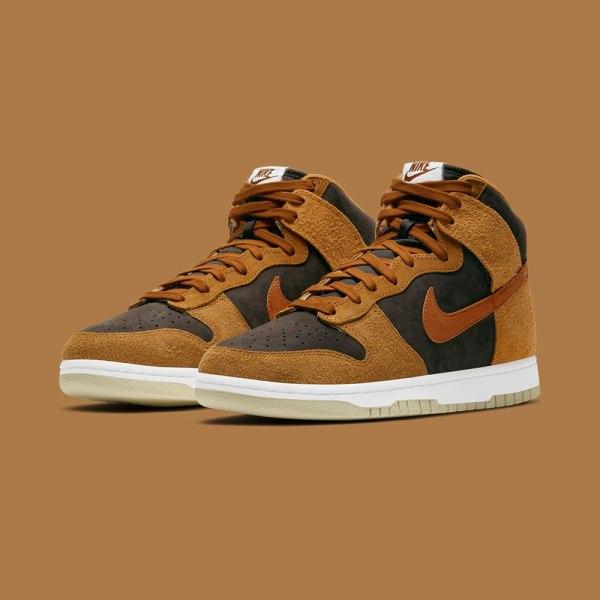 Nike Dunk High PRM - 'Dark Russet'