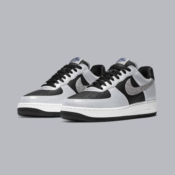 Nike Air Force 1 B - 'Silver Snake'