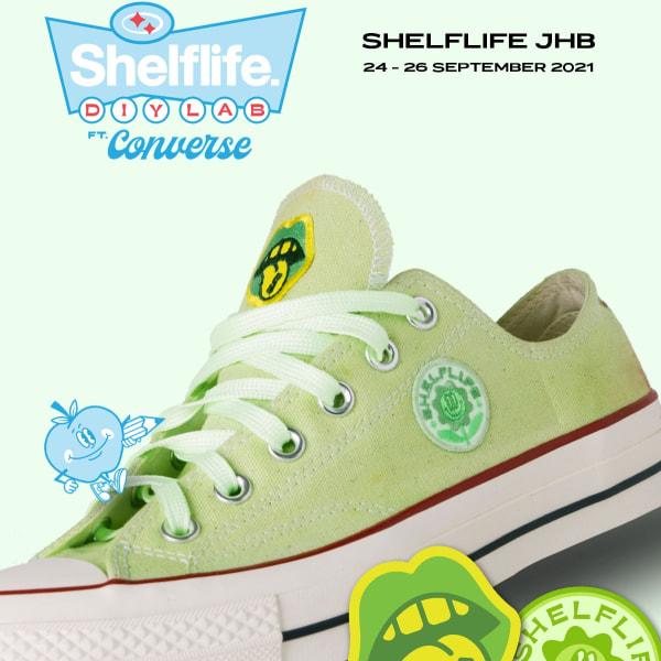Shelflife DIY Lab Feat. Converse (24 - 26 September)