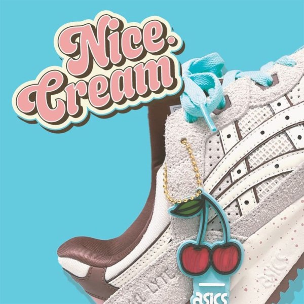 Nice Kicks x ASICS Gel-Lyte III - 'Nice Creams'