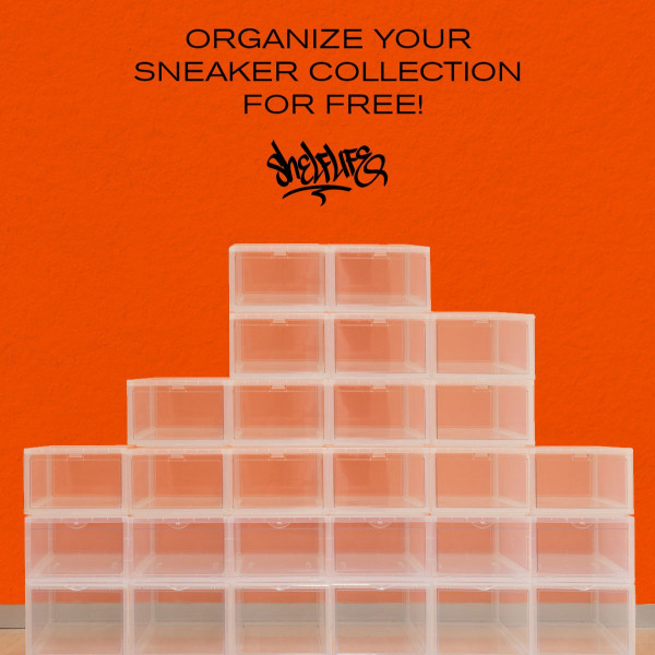 Shelflife Sneaker Crate Competition