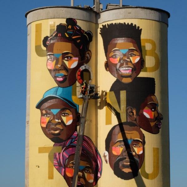 Nardstar* Creates New Mural Raising COVID Awareness in Philippi