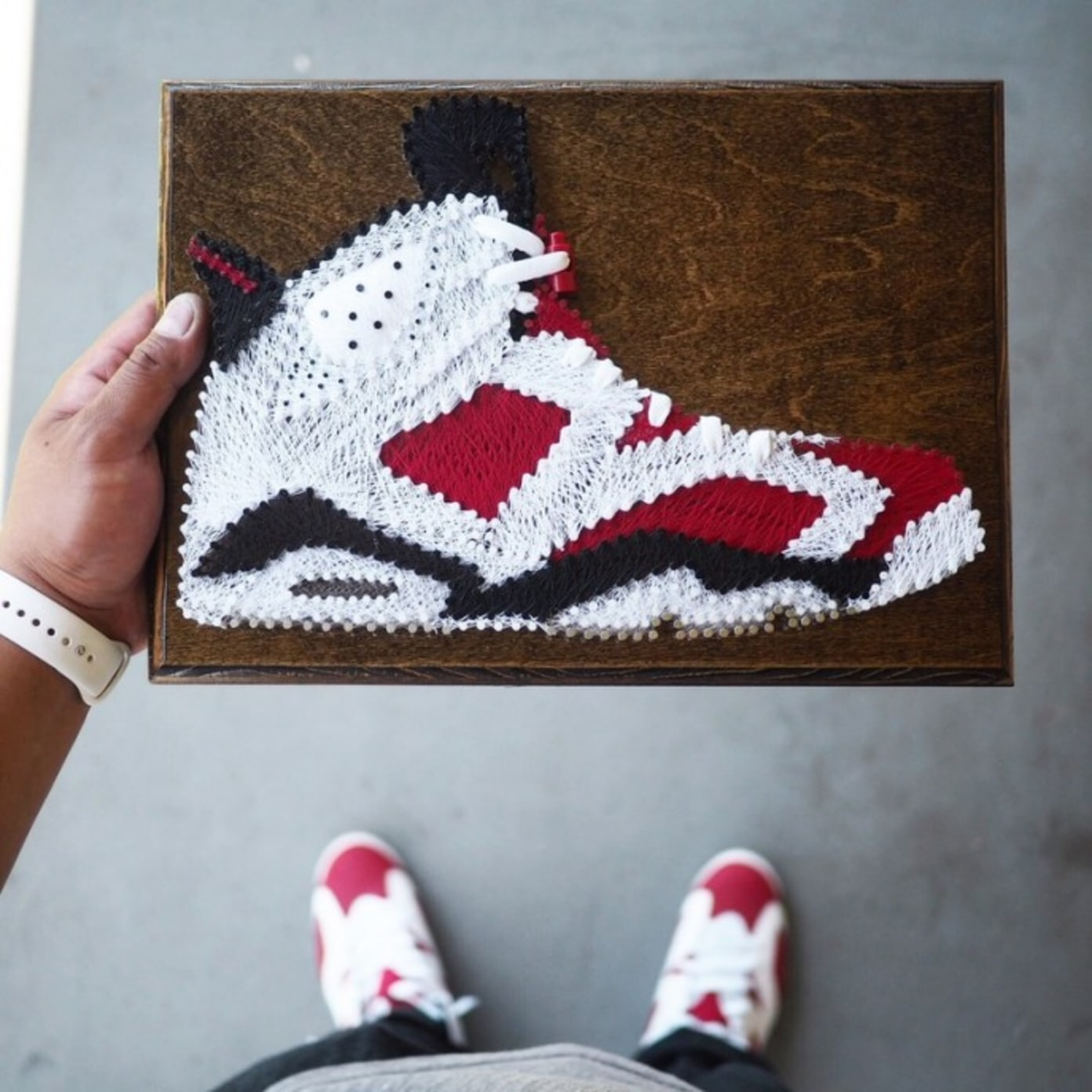 Sole Stitches: Your favourite sneakers reimagined with String!