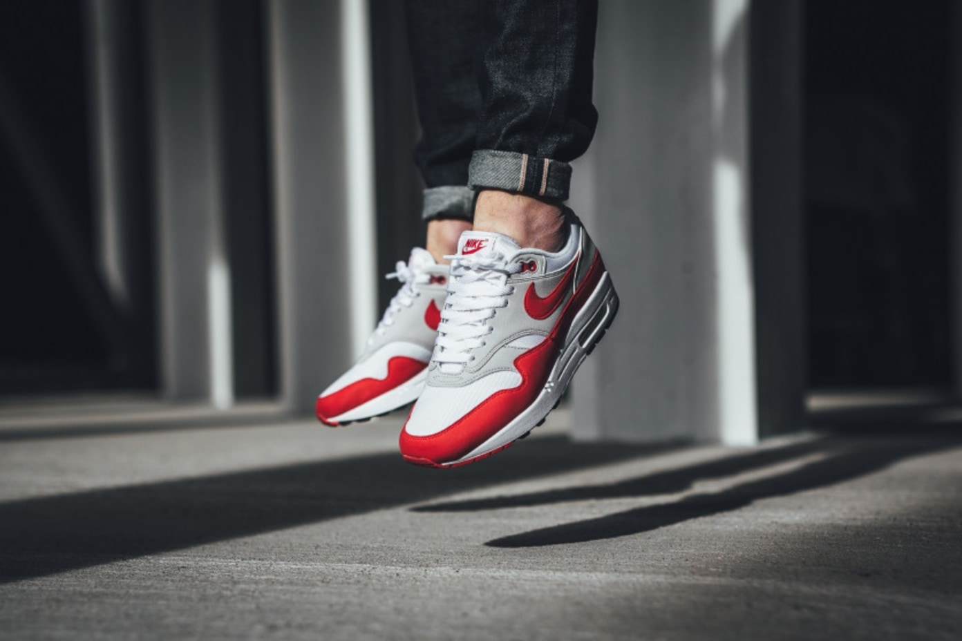 Absoluto Pizza Chip  Nike Air Max 1 OG University Red | RESTOCK | Shelflife