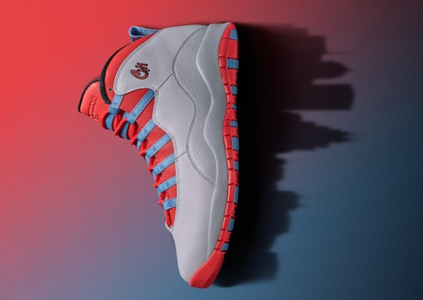 "Air Jordan 10 ""Chicago Flag"""