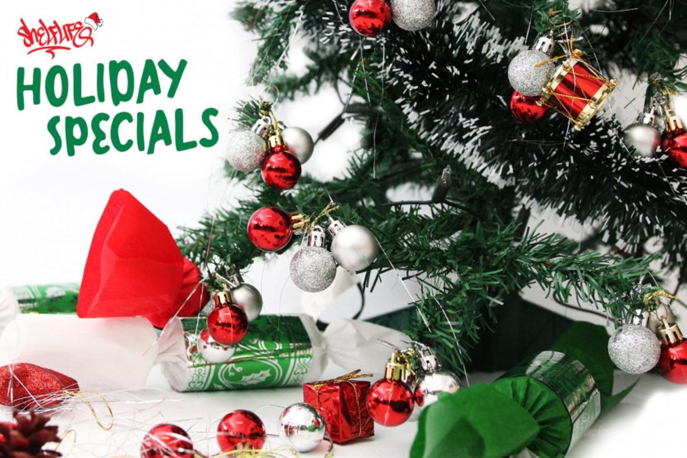 Shelflife Holiday Specials