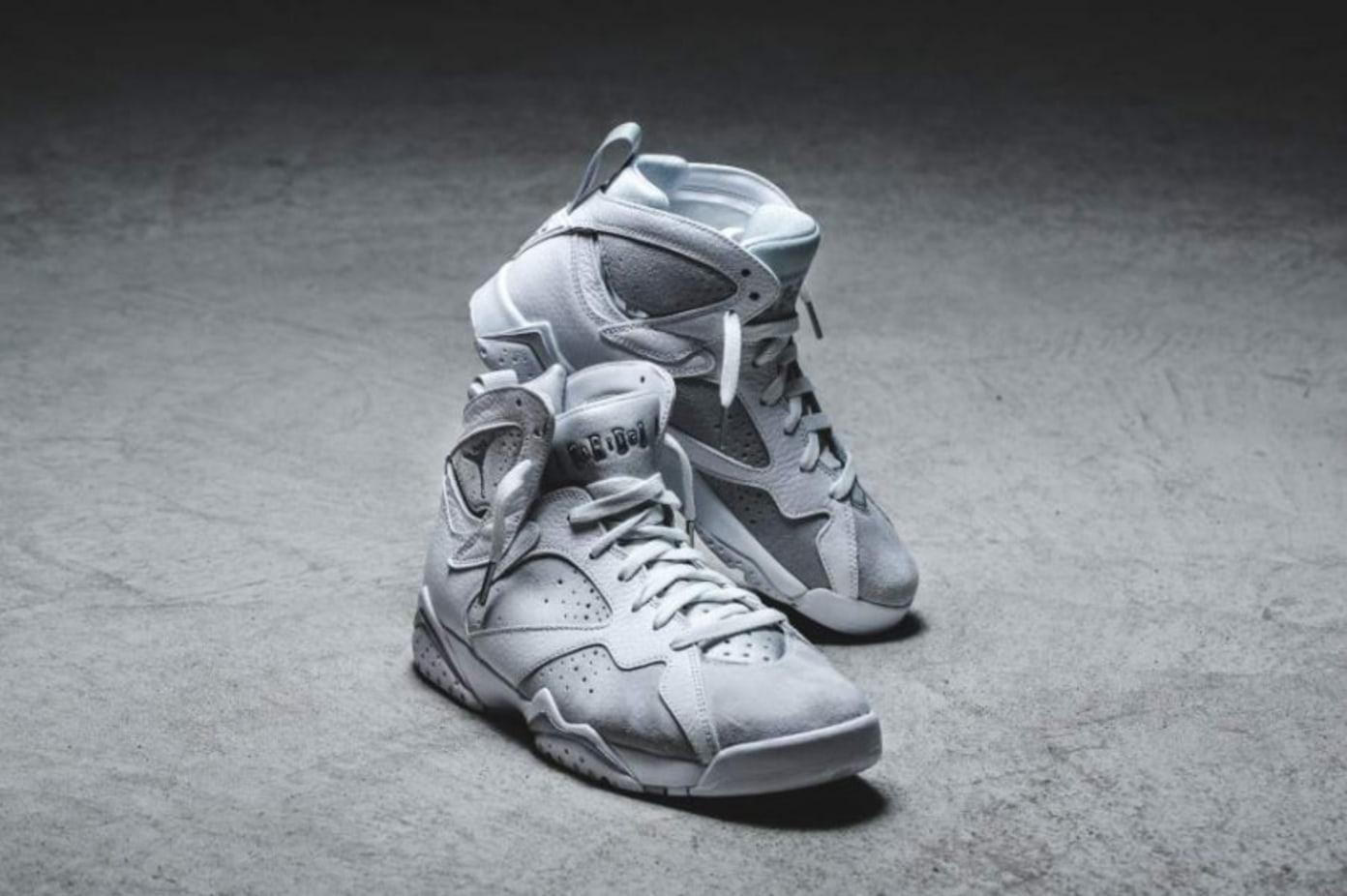 Nike Air Jordan 7 White Metallic Silver (Pure Money)