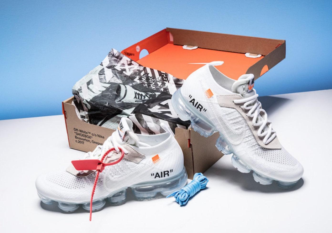 Off-White x Nike Air VaporMax White | Online Raffle
