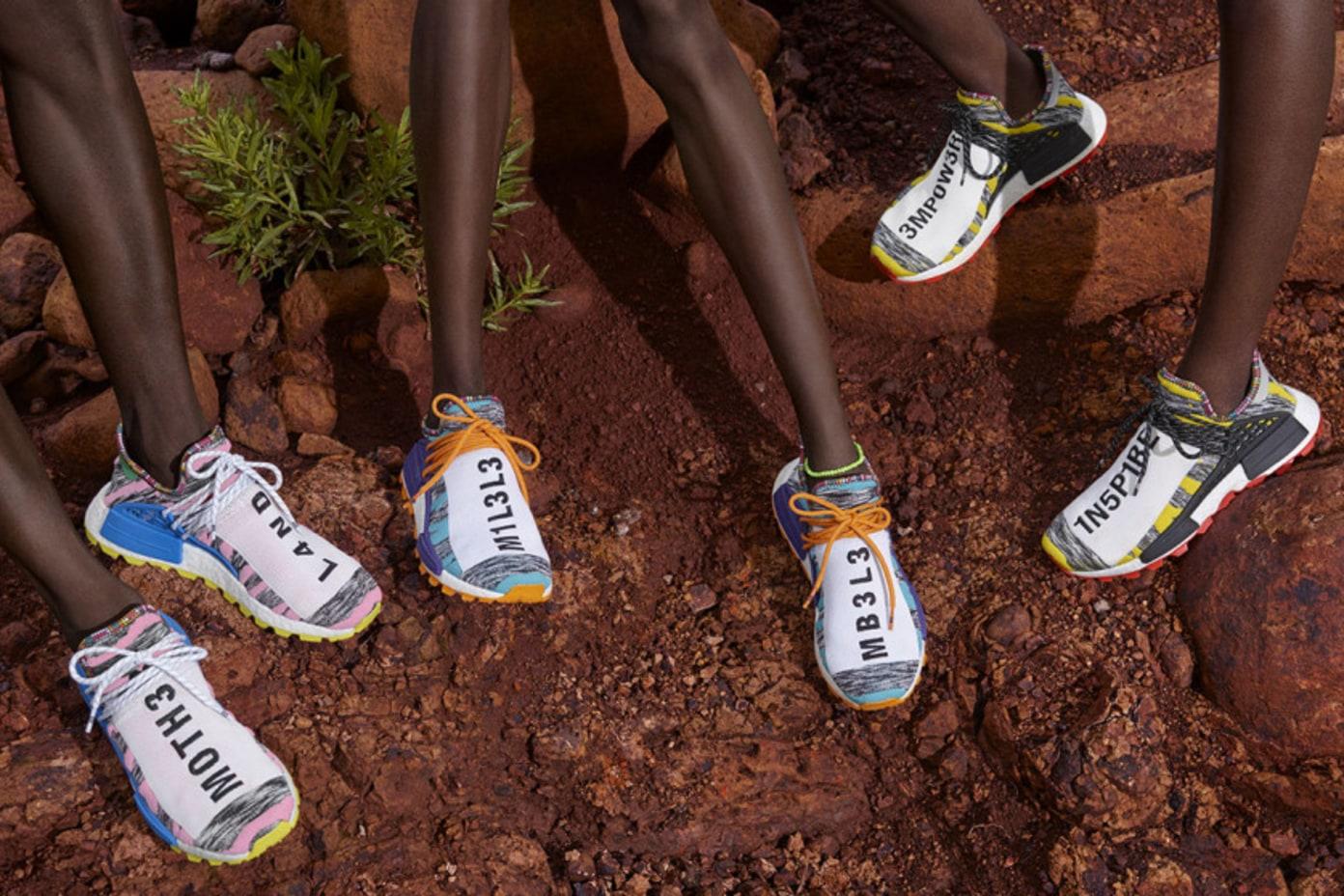 "Pharrell x adidas NMD Hu ""Solar Pack""   Release Info"