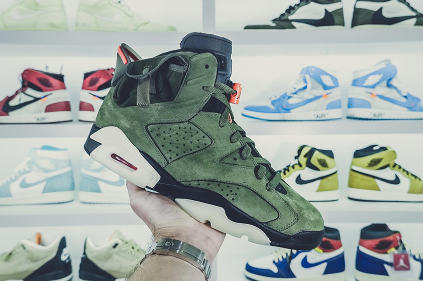 Sneaker Stories Gives Us an Early Look at the Travis Scott x Jordan 6