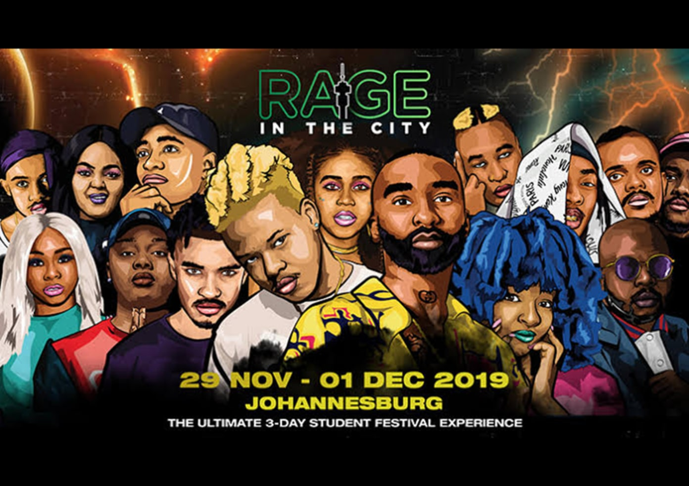 Rage in the City 2019