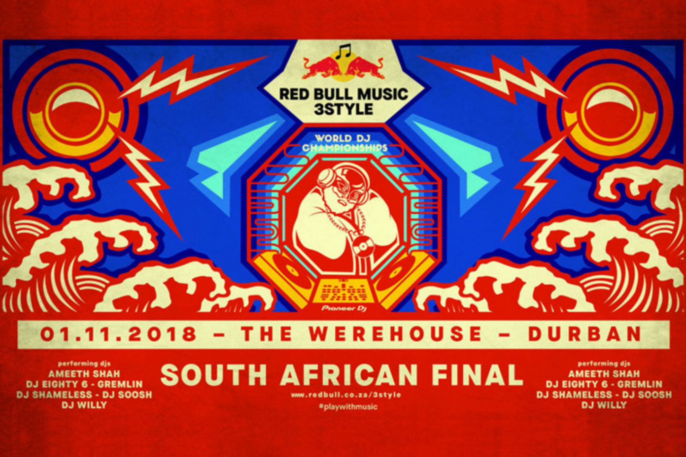 Red Bull Music 3Style South Africa