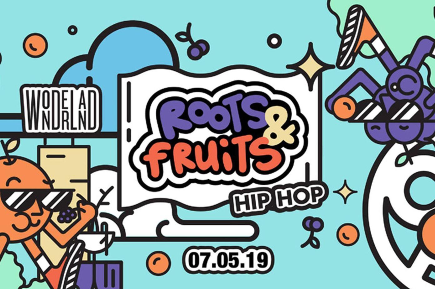 Roots & Fruits: Hip Hop (7 May)