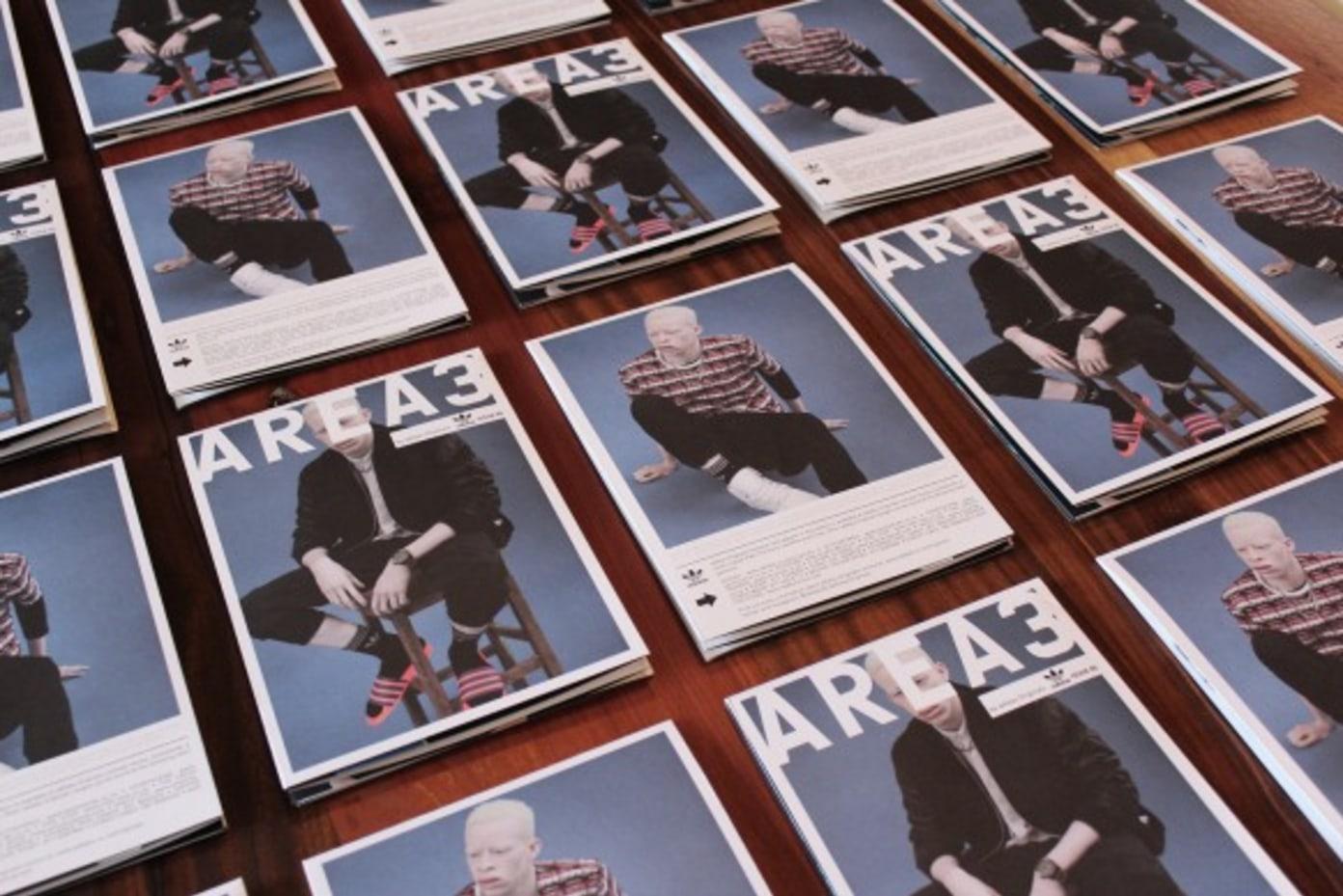 adidas Originals AREA3 Broadsheet Issue 5 Available at Shelflife