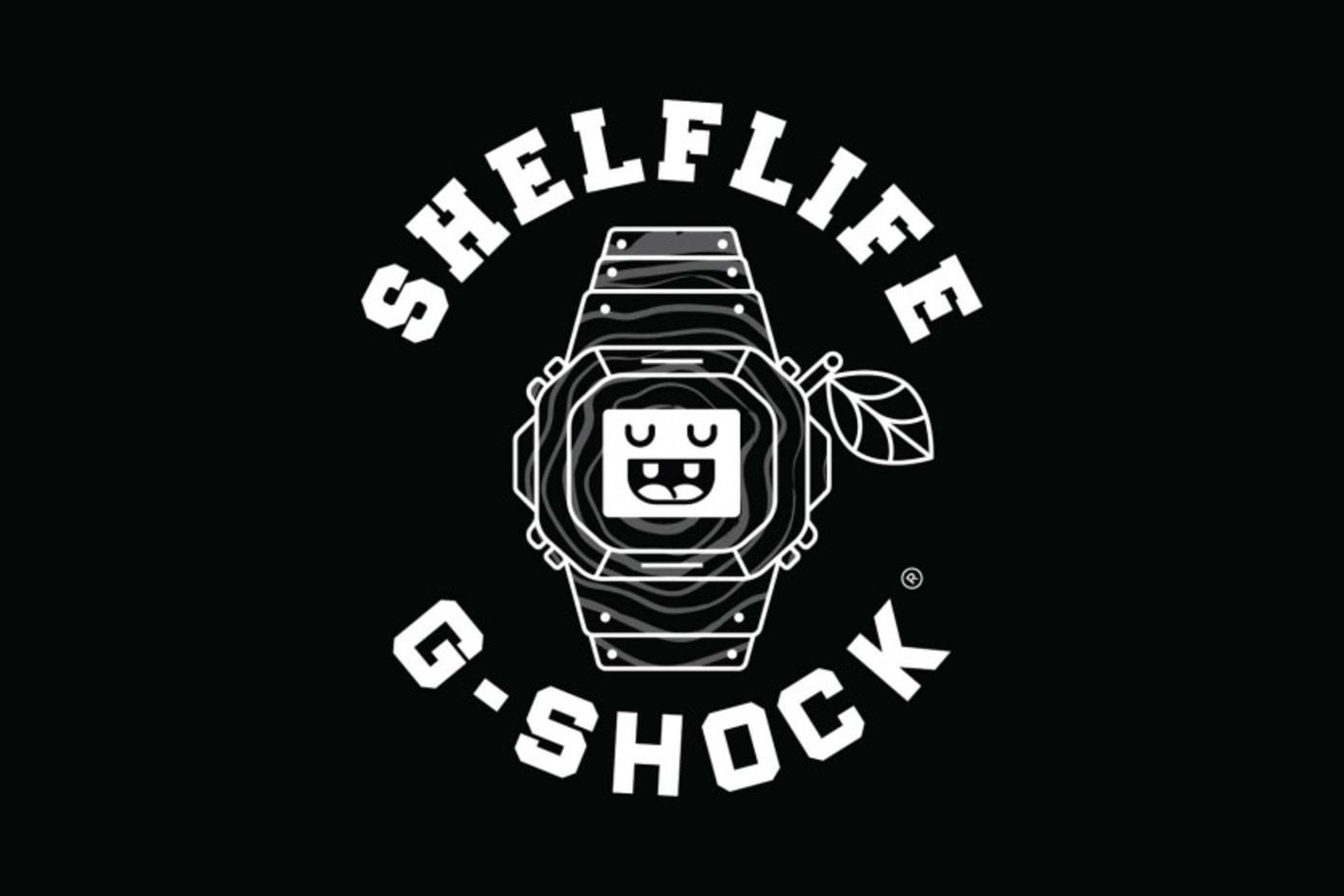 Shelflife X G-Shock Watch Collaboration