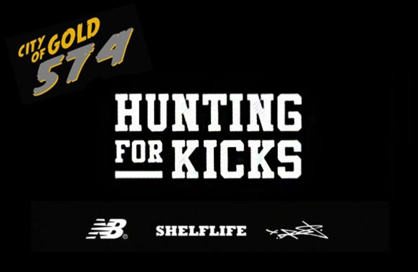 Hunting For Kicks Special Edition: New Balance x Shelflife x Dr.Z City of Gold 574