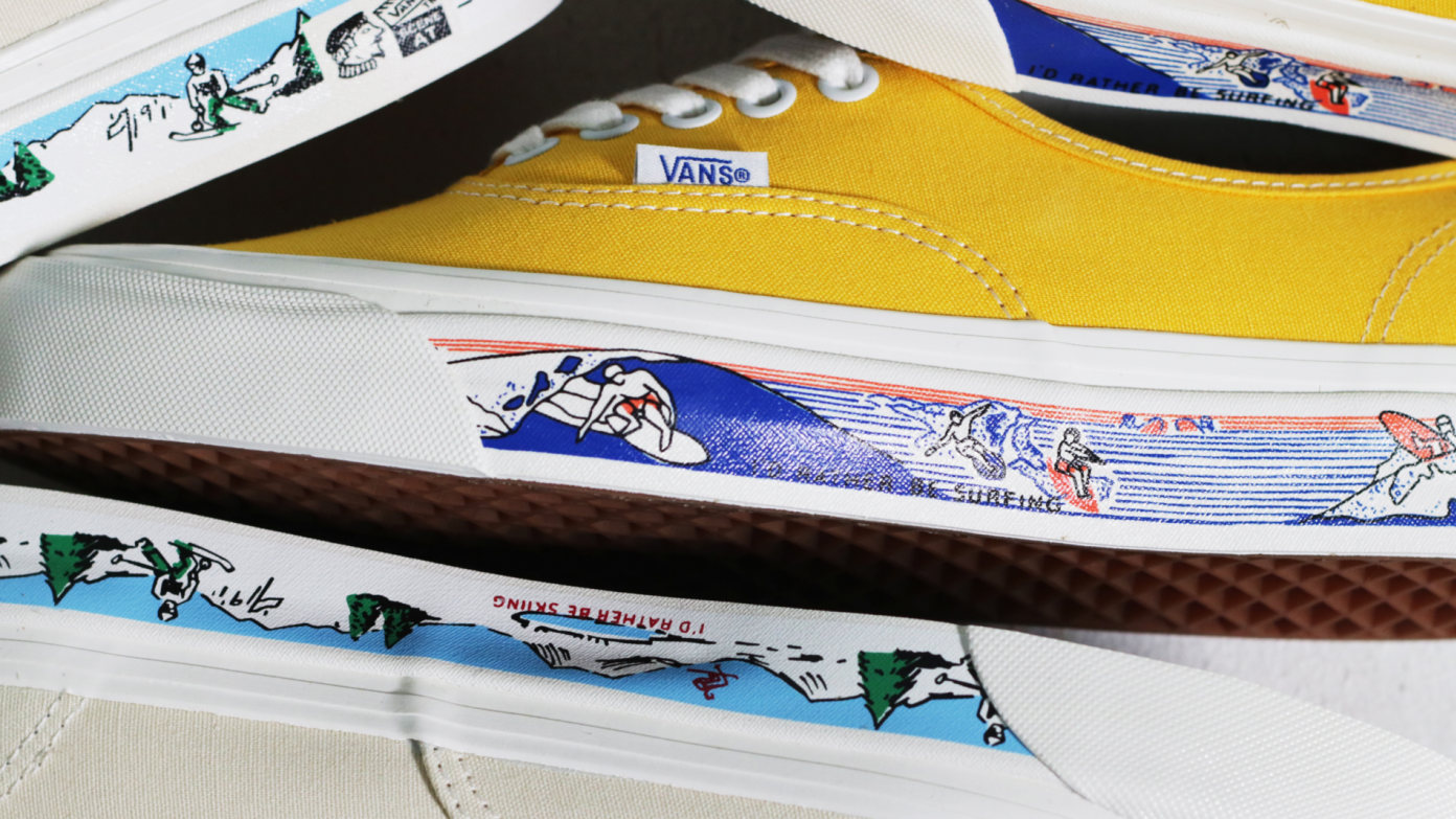 Vans Anaheim Factory Collection: Sidewall Prints