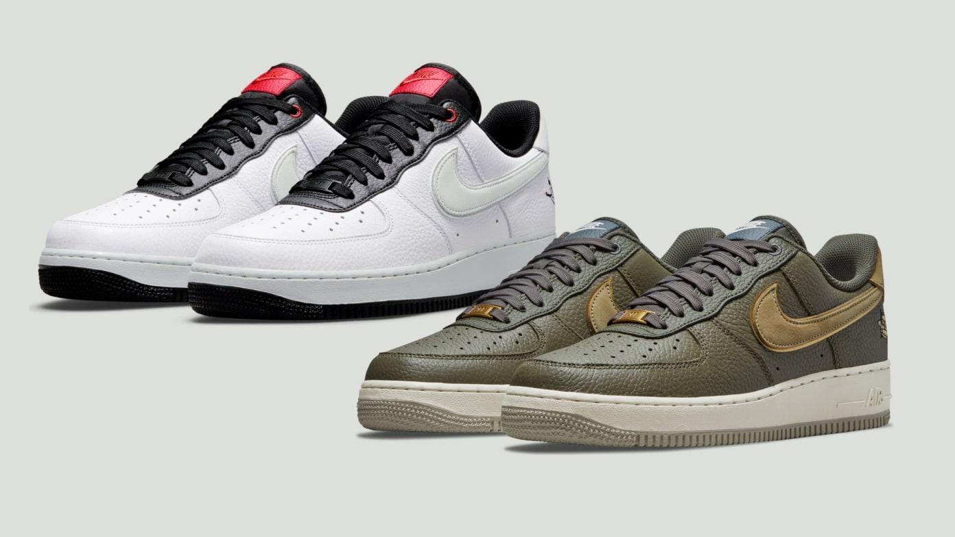 Nike Air Force 1 LX 'Milky Stork' & 'Turtle'