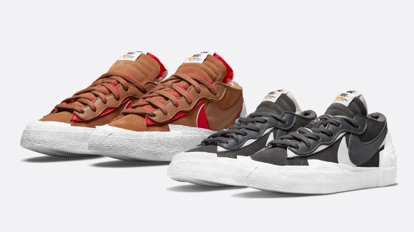 sacai x Nike Blazer Low Pack