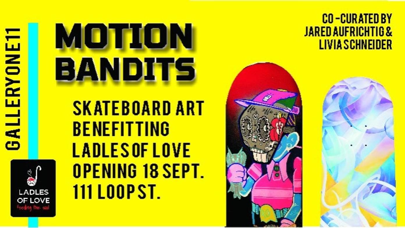 Motion Bandits Skateboard Art Gallery Exhibition