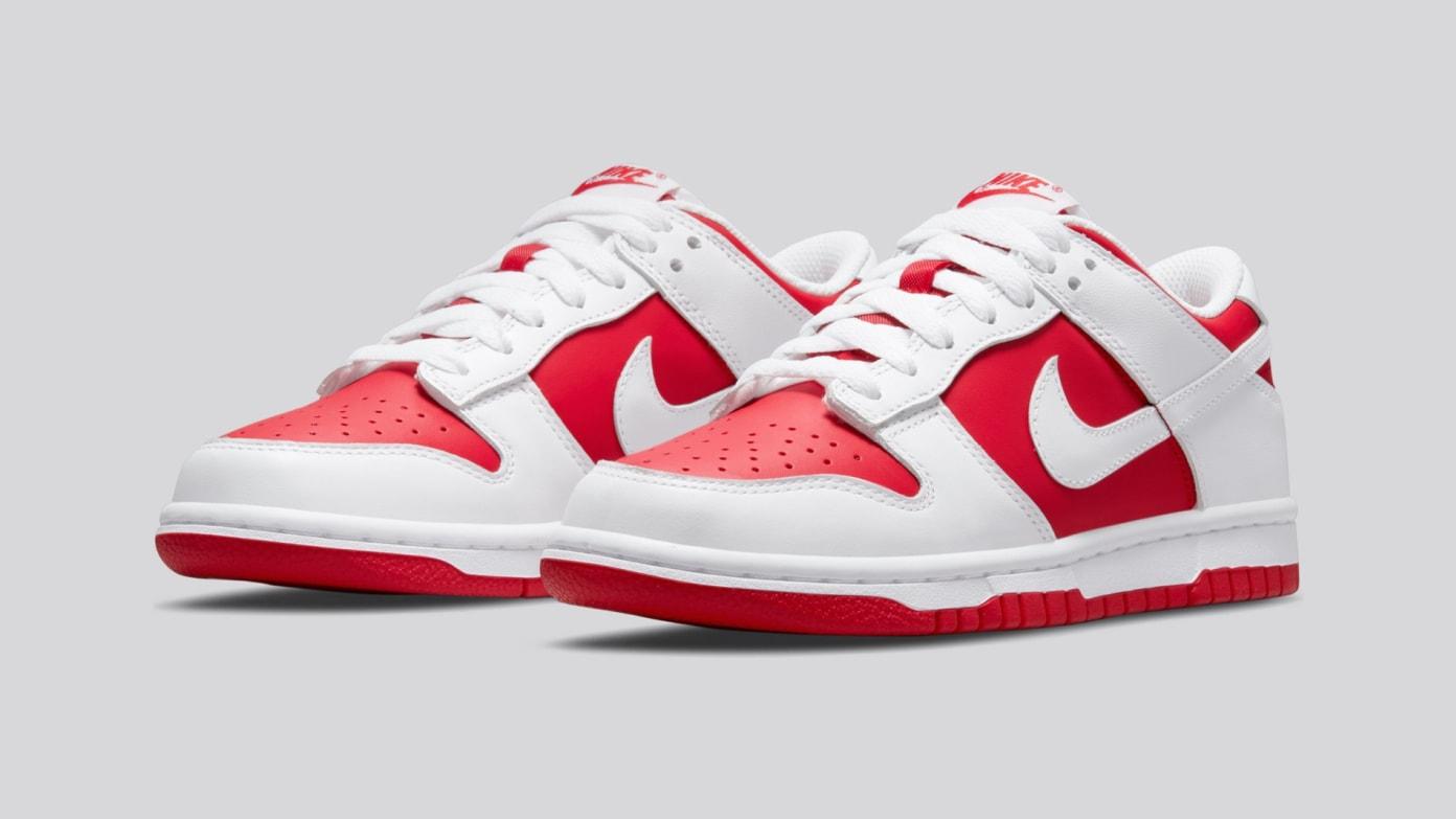 Nike Dunk Low - White/University Red