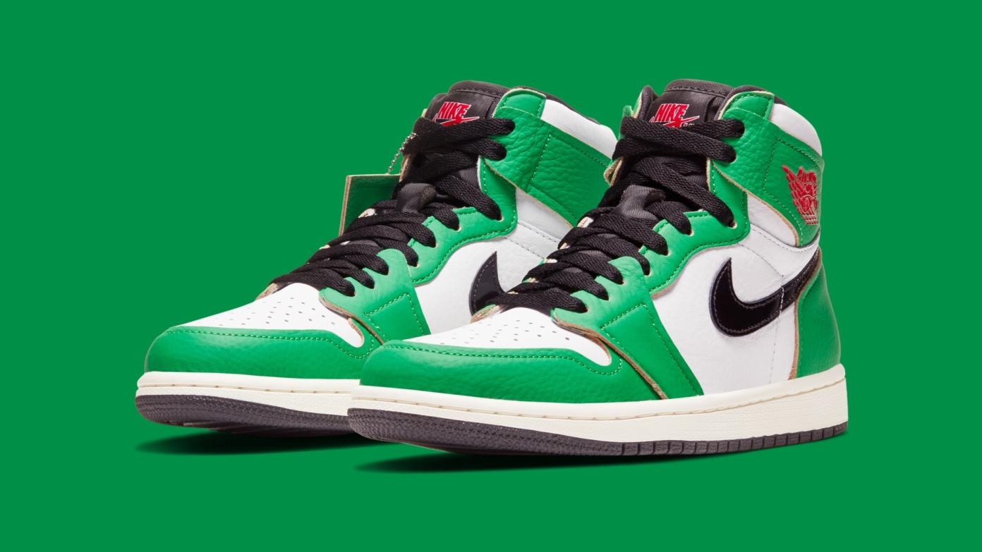WMNS Air Jordan 1 High OG  - 'Lucky Green'