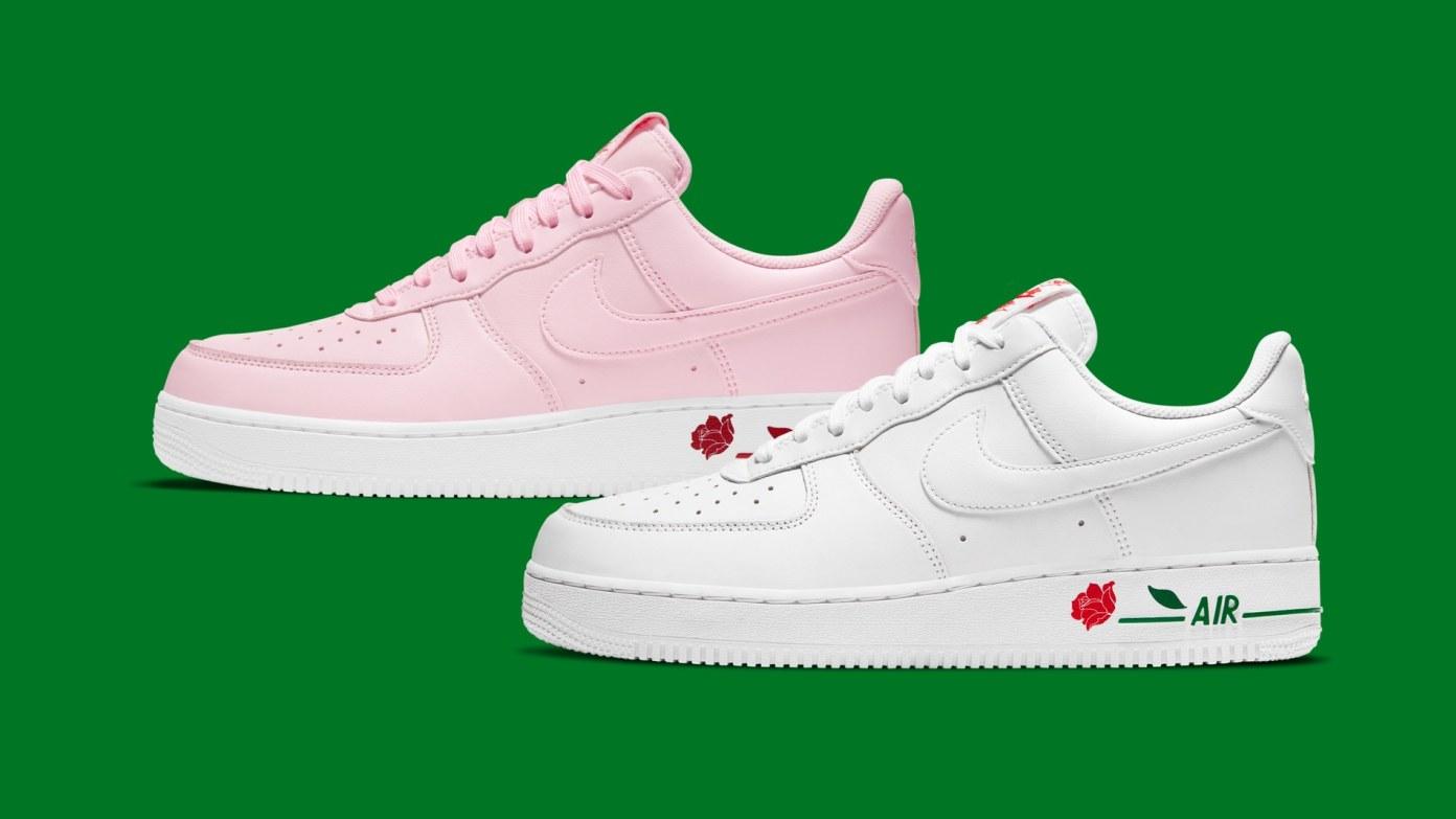 Nike Air Force 1 'Rose' Pack