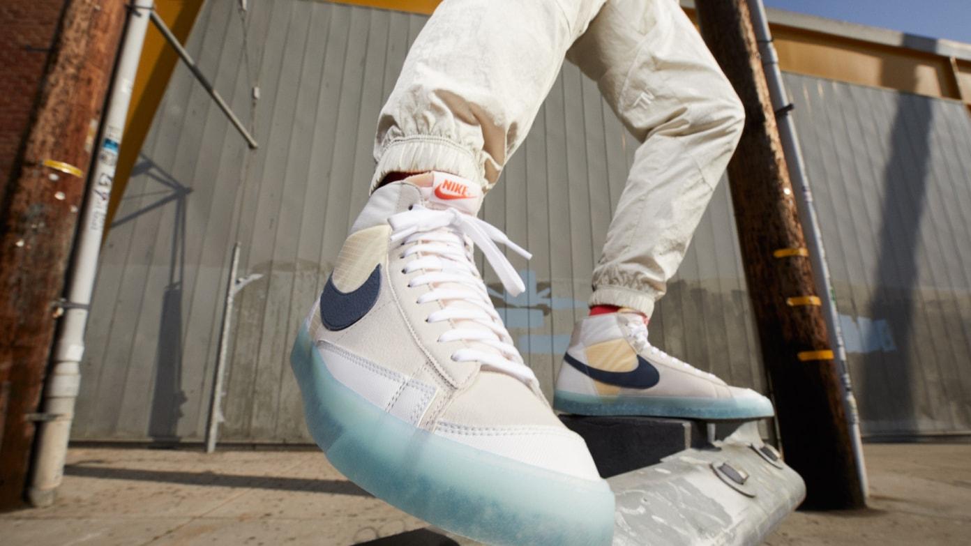 Nike Blazer Mid 77 Move to Zero - 'Glacier Ice'