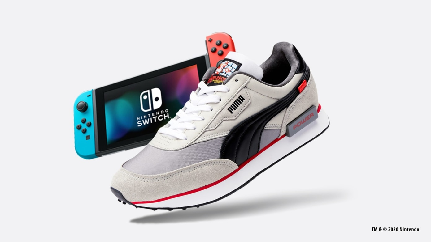 Nintendo Switch Giveaway for the PUMA NES Future Rider