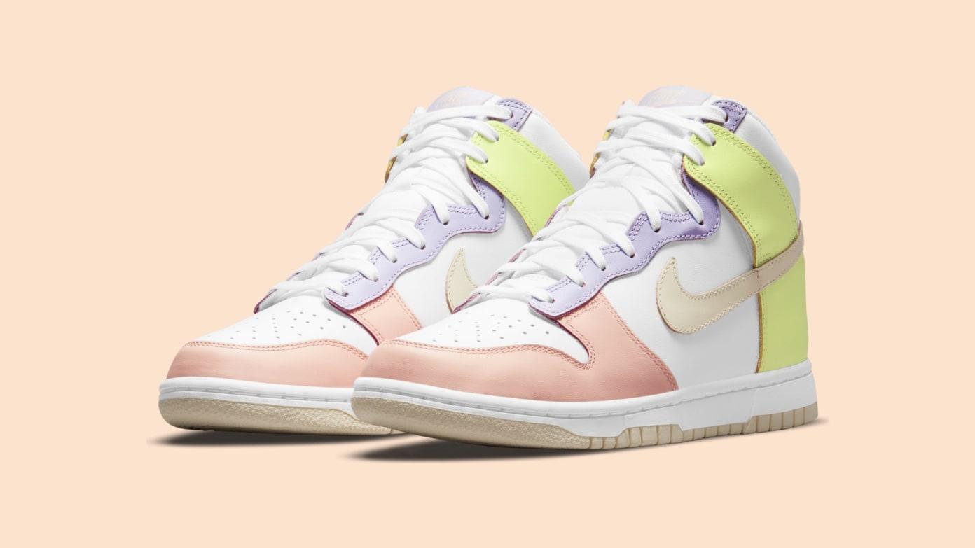 Nike Women's Dunk High - 'Lemon Twist'