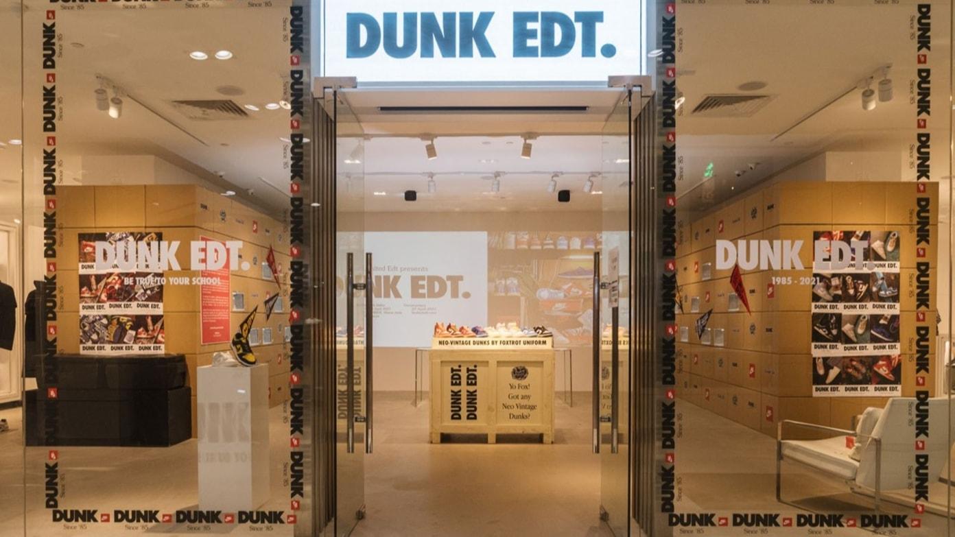 'Dunk Edt.' Retro Dunk Exhibition in Singapore