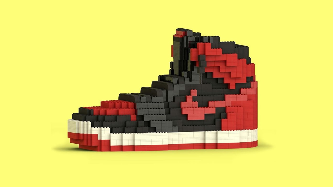 Tom Yoo: Making Sneakers Out of LEGO