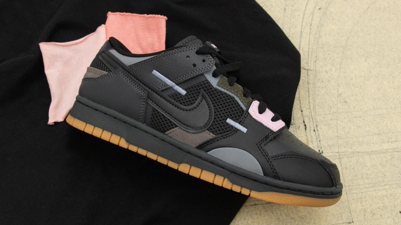 Nike Dunk Scrap - 'Black/Pink'