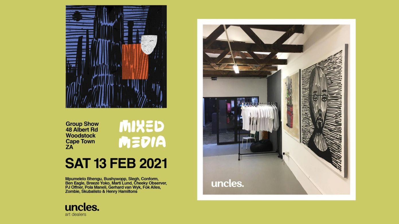 Mixed Media Group Show at Uncles Art Dealers (13 Feb)