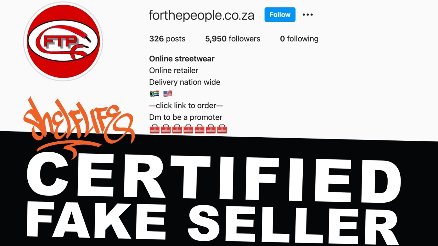 Fake Fridays: ForThePeople.co.za