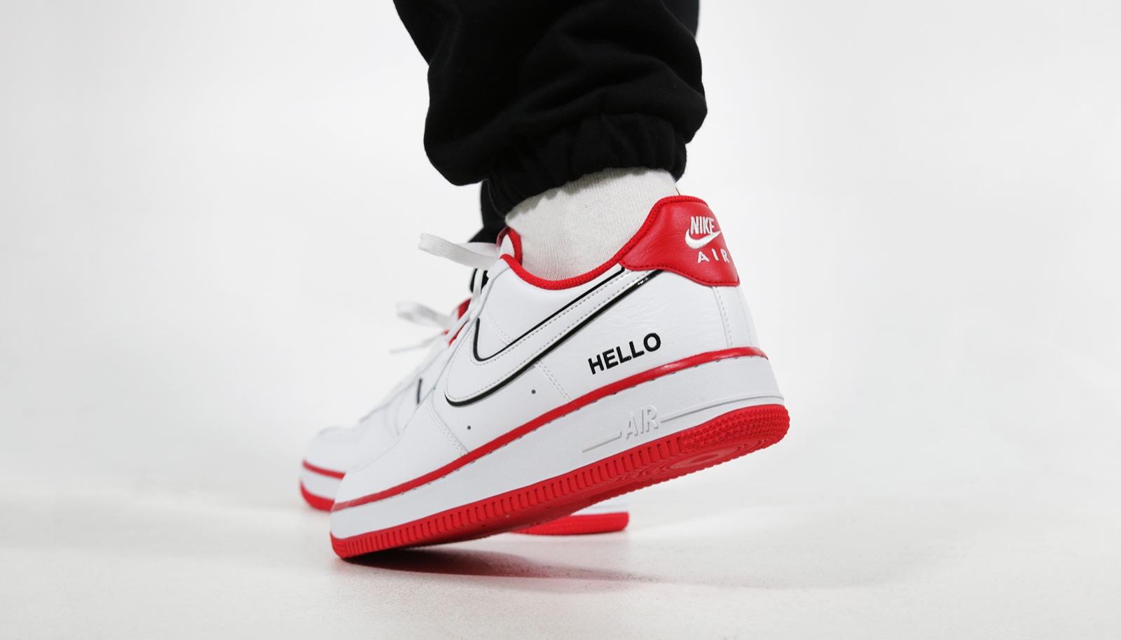 Nike Air Force 1 'Hello'