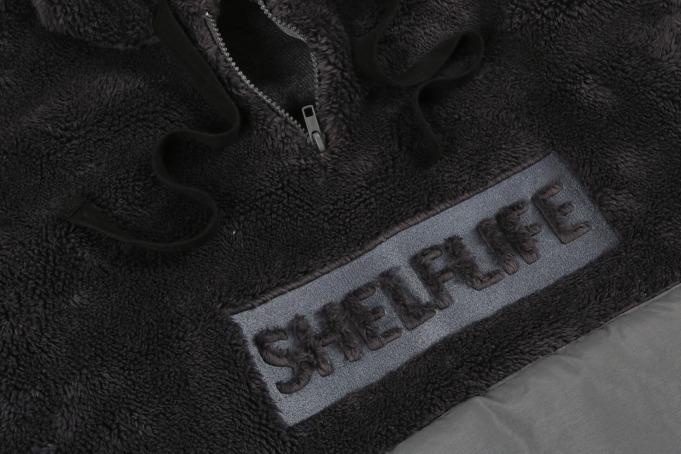 Shelflife Shaggy Fleece Hoodie - default