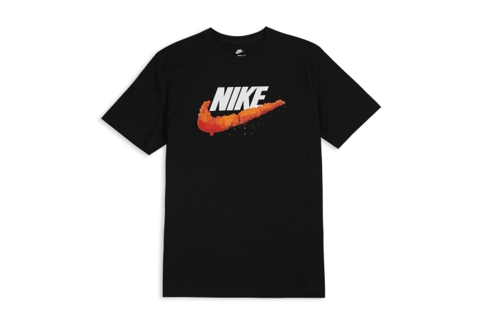 Nike Sportswear Deep Fried Swoosh Tee - default