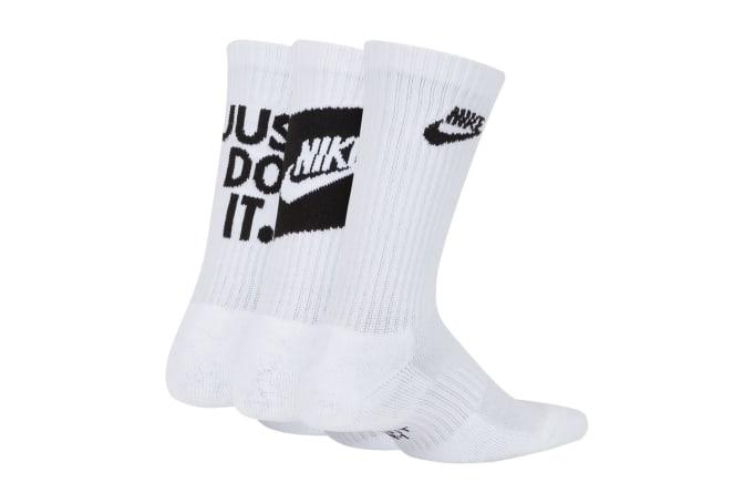Nike Everyday Cushioned Crew Socks (3 Pairs) - default