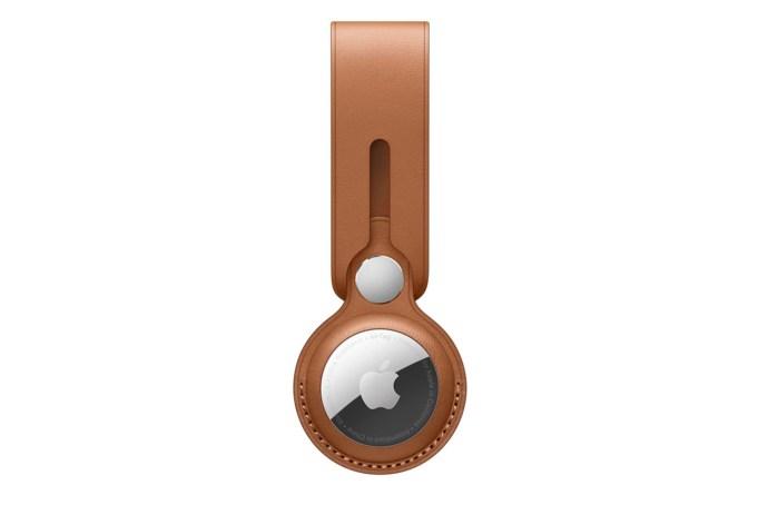 Apple AirTag Leather Loop - default