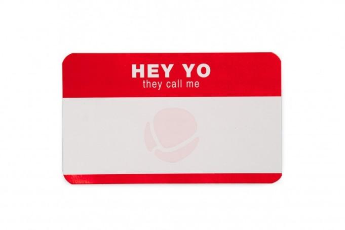 MTN WTF Stickers - Hey Yo - default