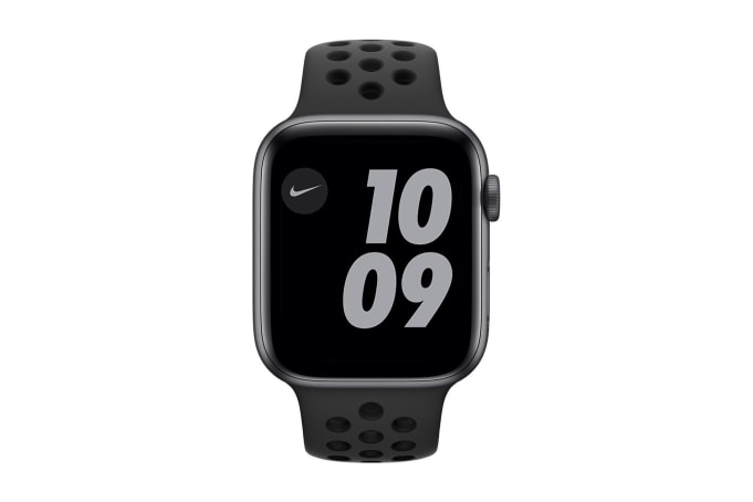 Apple Watch Series 6 Nike GPS + Cellular 44mm Aluminium Case with Sport Band - default