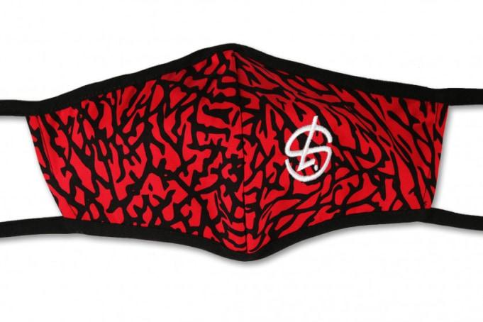 Shelflife Sneaker Inspired Face Mask  - default