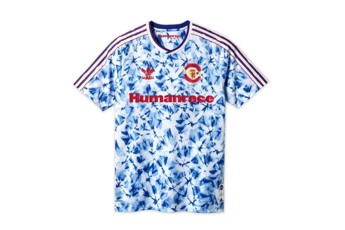 adidas x Pharrell Humanrace Manchester United Jersey  - Turquoise