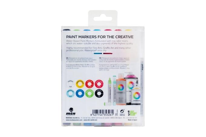 Montana Waterbased Markers  (8 Pack) - default